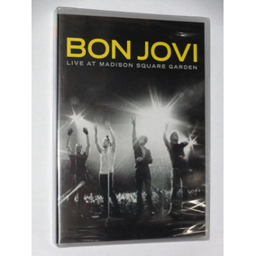 Dvd Bon Jovi Live From Madison Square Garden