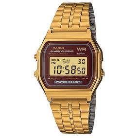Relógio Masculino Digital Casio A159wgea5df - Dourado