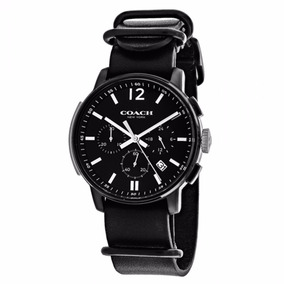 Reloj Coach Bleecker Acero Inox Negro Hombre Cronóg 14602021