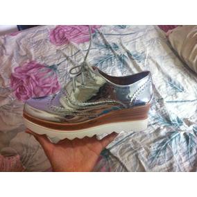 Oxford Zapatos Importados De Moda Plataforma Glister Pazzle