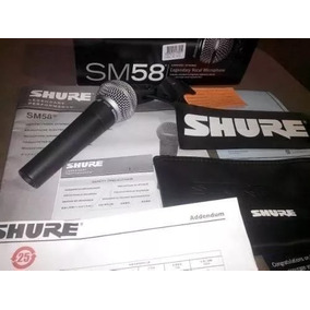 Microfone De Mao Shure Sm58 Sm 58 Lc