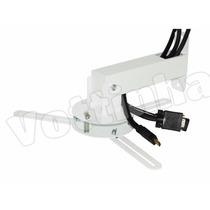 Suporte Projetor Teto Parede C/ Passa Fio Epson Benq Sony