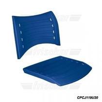 Assento Encosto Color. Cadeira Iso Fixa/giratória/longarina