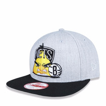 Boné Aba Reta New Era Brooklyn Snapback Angry Birds Aberto