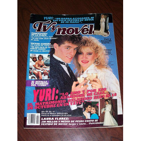 Tv Y Novelas Yuri 1986 Revista