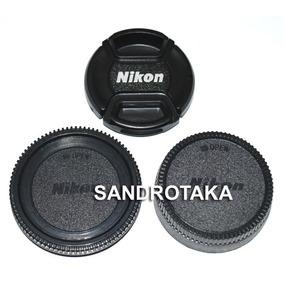 Kit 3 Tampa Nikon 52mm 18-55 D50 D60 D70 D80 D90 D100 C.0192