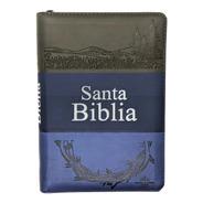 Biblia Letra Grande Cierre Índice Azul Reina Valera 1960