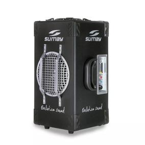 Caixa Som Amplificada Sumay Vibe One 200w Rms Bluetooth