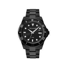 Relógio Technos Masculino Skymaster 2415cl/4p Aço Preto