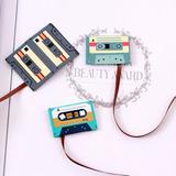 Clip Magnetico Separador Libro Tipo Cassette Marcapaginas