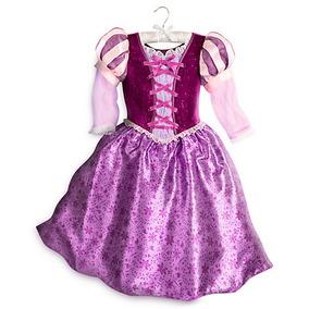 Vestido Disfraz Rapunzel Enredados Disney Store Usa Original