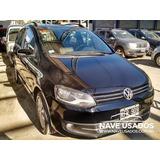 Volkswagen Suran I-motion 2011 Negro 5 Puertas Full Kfr