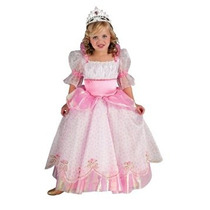 Disfraz Para Niña Traje Rosado De La Princesa, Niños Pequeñ