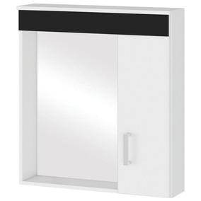 Espelheira Para Banheiro Mgm Moveis Turim 63x60x15 Cm