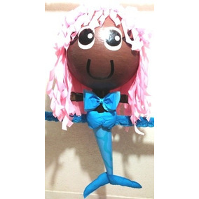 Piñata Tipo Bubble Gupies Tiana Rapunzel Jazmin Malefica