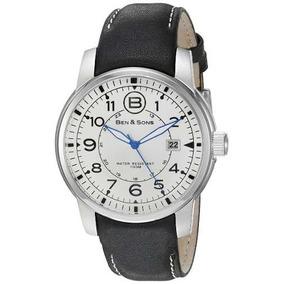 Ben & Sons West Si Reloj Hombre Cuarzo 45mm Analógico Corre