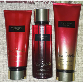 Kit Pure Seduction Victorias Secret 3 Produtos Original