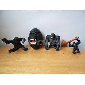 Cuatro Juguetes De King Kong Figuras Burger King Pl7