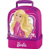 Lonchera Bolso Barbie 2 Compartimientos Importado Thermos