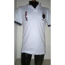 Camisa Playera Tipo Polo, Color Blanco Polo Ralph Lauren