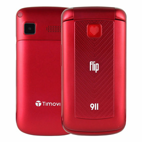 Telefono Celular Timovi 911 Neo Dual Sim Adulto Mayor Rojo