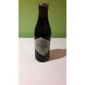 Coca Cola Botella Colección Historica Mod2 Base 1 Peso!!!