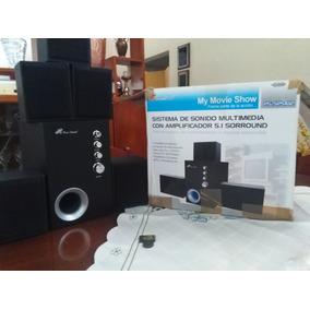 Sistema De Sonido Multimedia Con Amplificador 5.1