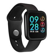 Smartwatch P80 Rosa Ios E Android + Brinde Pulseira Extra