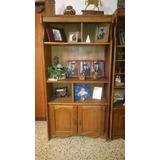 Biblioteca Estante De Madera Saman