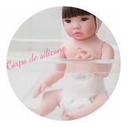 Bebe Reborn Implantado Mais Barato Do Mundo Princesa + Bolsa