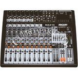 Moon Audio Pro Max14 (*) Mixer Moon 14 Canales Potenciado