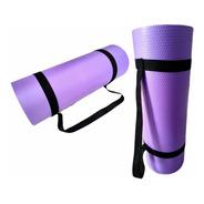 8 Peças Colchonete Tapete Yoga Ginástica Pilates 1,80mx53cm