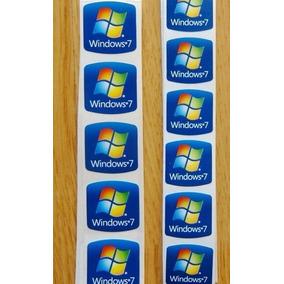 Calcomania Sticker Etiqueta Windows 7 Pc Escritorio 10 Pieza