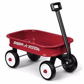 Carrito Rojo Para Juguetes Niños De 2 A 5 Años Oferta