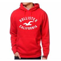Moletom Hollister Masculino E Feminino Blusa Canguru Mod:02