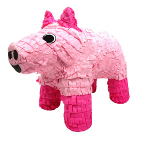 Pinatas Pig, Party Game, Decoración Y Photo Prop Para F...