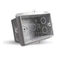 Caja Rectangular Pvc Genrod Pack Ahorro X 12 Unid - Tofema
