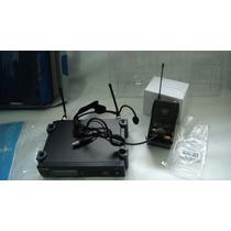 Sistema Sem Fio Shure Uhf Slx -slx14 Headset E Lapela