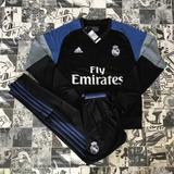 adidas Homem E Mulher Agasalho Real Madrid Blusa De Futebol