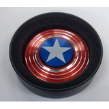 Spinner Escudo Capitan America (metal)