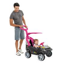 Carrinho Bebe Quadriciclo Infantil Empurrador Menina Smart