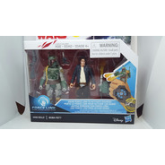Star Wars Han Solo Boba Fett Disney Hasbro Force Link Nuevo