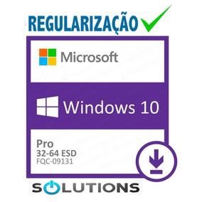 Selo Etiqueta - Windows10 Pro Original Esd + Nf-e
