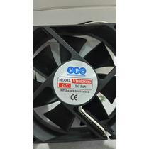 Ventilador Fan Cooler 24 Volt Cc 210 Ma 80x80x250 Mm