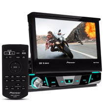 Dvd Retrátil Pioneer Avh X 7880 Tv Dtv Bluetooth 7 Polegadas