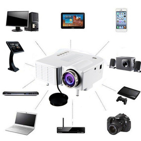 Mini Projetor Home Theater 1080p Hd Led