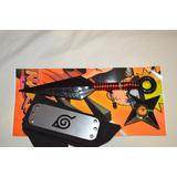 Accesorios Naruto Set: Banda+ Kunai +shuriken+ Envío Gratis!