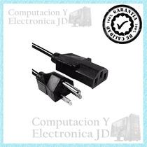 Cable Poder Corriente Para Computadora Impresora Monitor