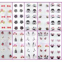 1 Cartela Adesivo Artesanal Carga Dupla,flores,laços, Outros