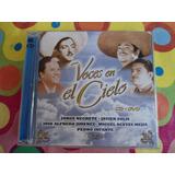Voces En El Cielo Cd + Dvd Varios Artistas Ranchero 2007